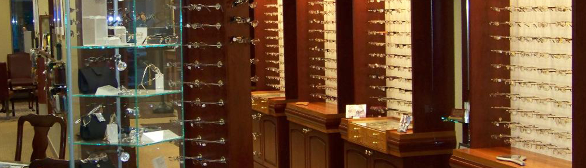Vestal Eyewear Display Cases And Cabinetes